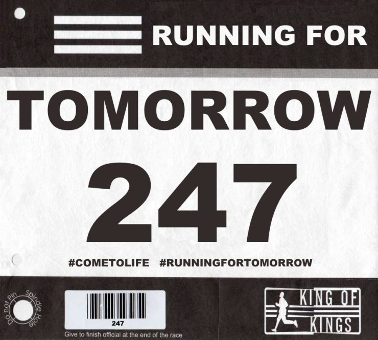 running for tomorrow