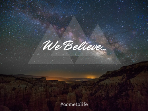 We Believe Presentation
